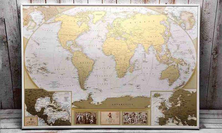 Para Imprimir Mapa Del Mundo Real.Mapas Del Mundo Ofertas Para Comprar Online 2019