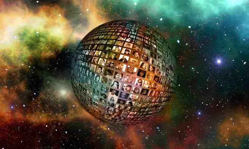 globo terráqueo virtual