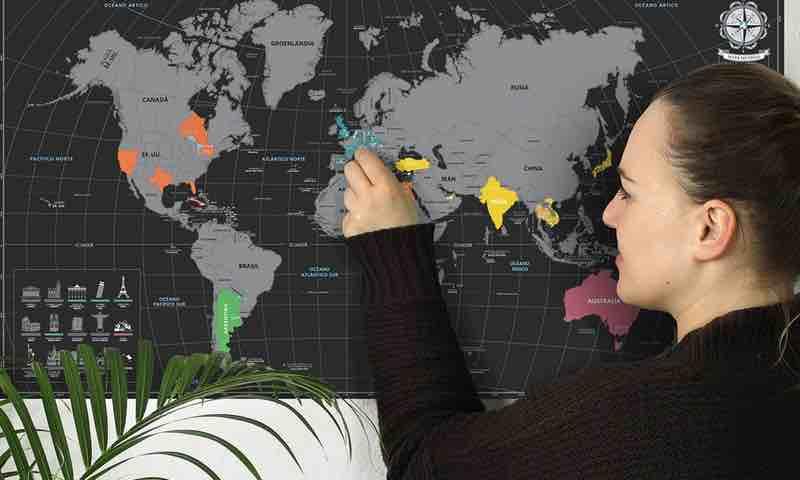 scratch maps. mapamundi rascar. mapa rascar