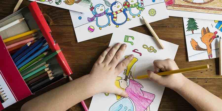 Beneficios de colorear un mapamundi