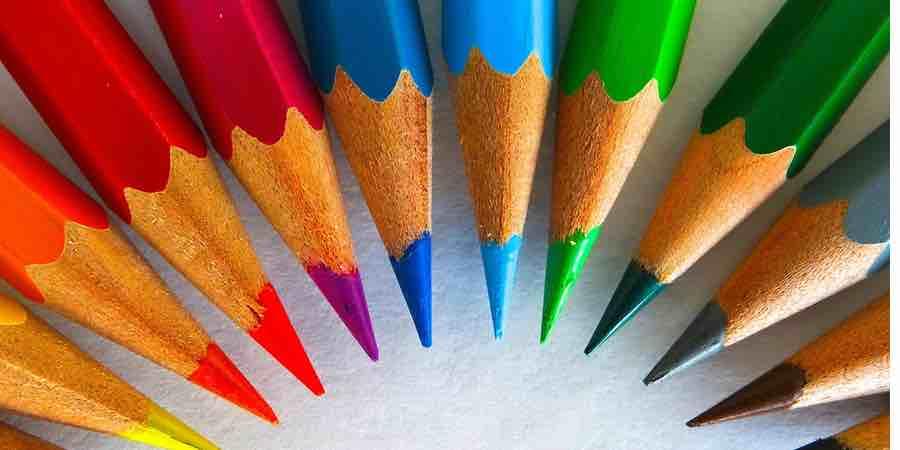 Colores para pintar mapas