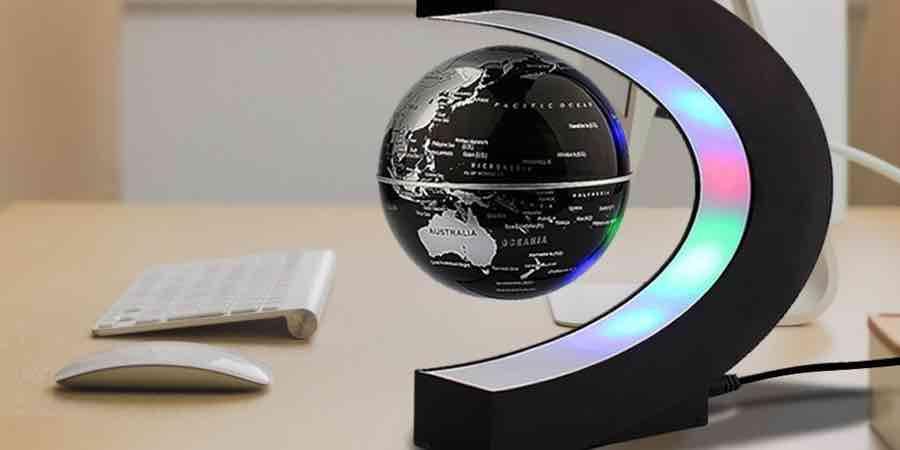 Bola del mundo Amazon. Bola flotante. mapamundi dimensiones reales