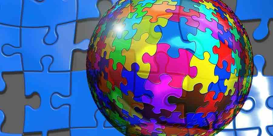 Bolas del mundo en 3D