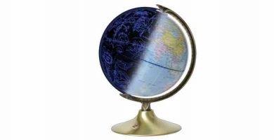 Globos del mundo dia y noche