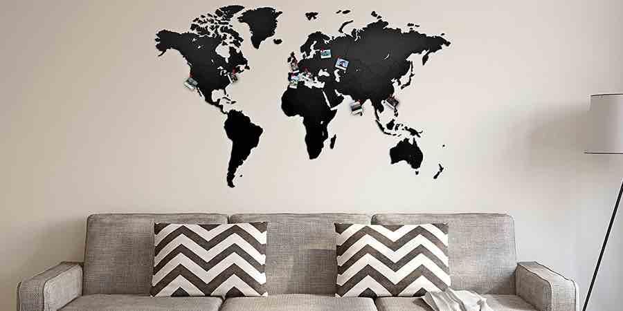comprar mapamundi madera Ikea para el salón, cuadro ikea mapamundi, ikea mapa mudo, ikea mapa mundi, mapamundi madera ikea, cuadro mundo ikea, pa